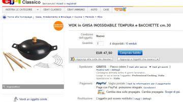 eBay.it: Gli italiani, sempre più chef, cercano online i giusti strumenti