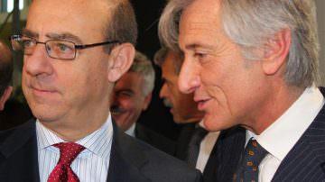Berlino: In Piazza Italia Paolo Bruni riceve l'Ambasciatore Michele Valensise