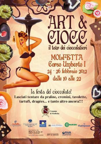 ART & CIOCC. Il cioccolato si ferma a Molfetta