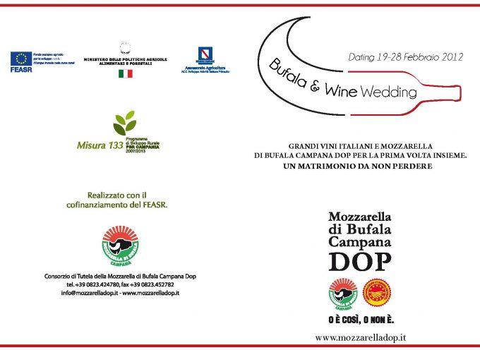 Bufala & Wine Wedding: matrimonio in tavola