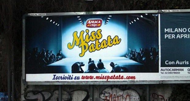 """""""Miss Patata?Potresti essere tu"""". Critiche allo spot di Amica Chips"""