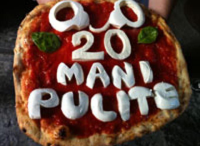 Tangentopoli, vent'anni dopo: a Napoli arriva la pizza Mani Pulite