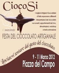CiocoSì. Il cioccolato arriva a Siena