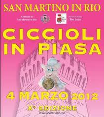 San Martino in Rio (RE): i ciccioli in piazza e la sfida dei 100 paioli