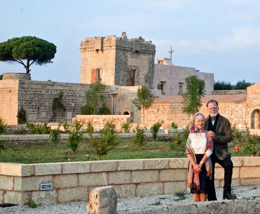 "Energy Resources: ""Masseria a zero emissioni"" per Taylor Hackford ed Helen Mirren"