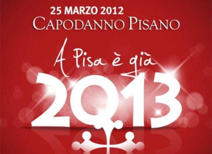 Il 25 marzo si festeggia un Capodanno insolito: quello di Pisa
