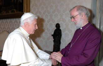 Scoop: Il vino di Sant'Antonio a cena con il Papa e l'Arcivescovo di Canterbury