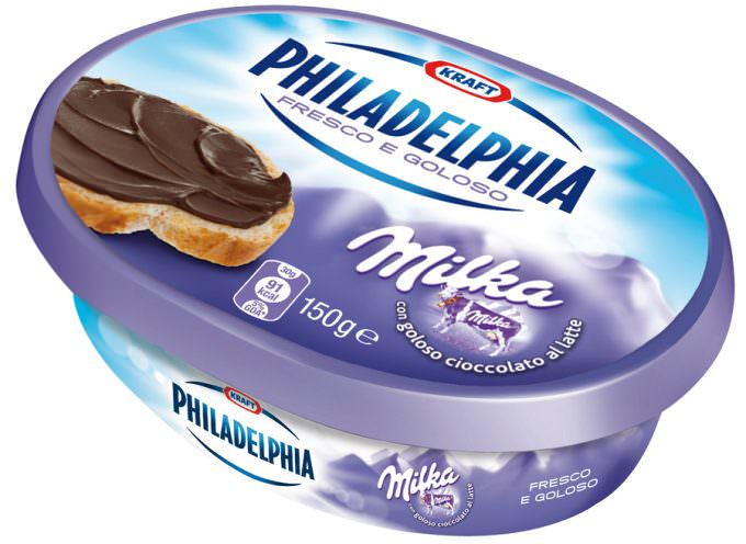 """Philadelphia con Milka eletta dai consumatori """"Prodotto dell'Anno 2012"""""""