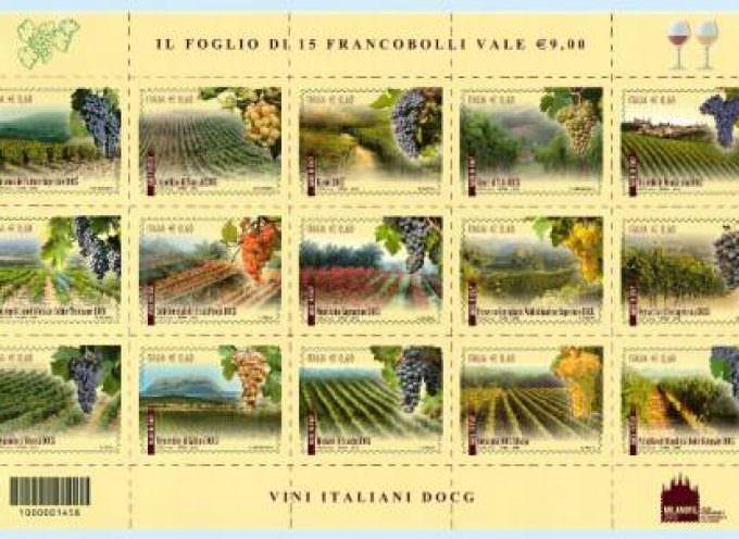 15 Francobolli per 15 vini DOCG