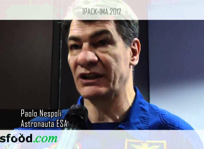 Paolo Nespoli, astronauta ESA a IPACK-IMA 2012  (Video)