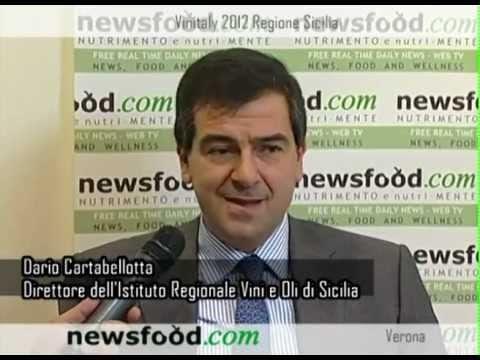 Dario Cartabellotta, Direttore Istituto Regionale Vini e Oli di Sicilia