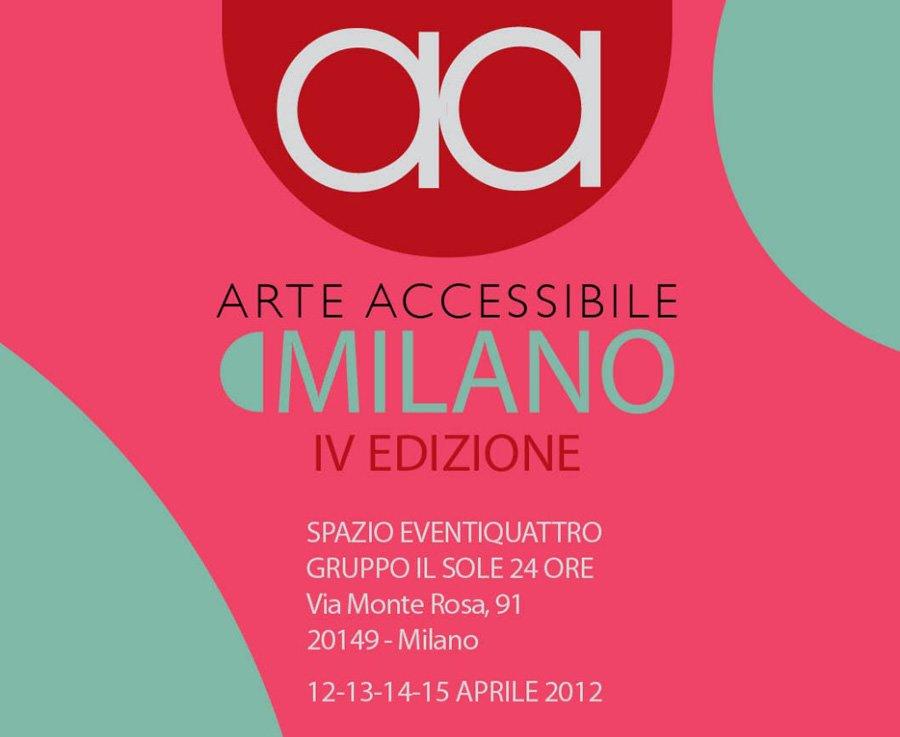 A Milano la 6.a edizione di Arte Accessibile