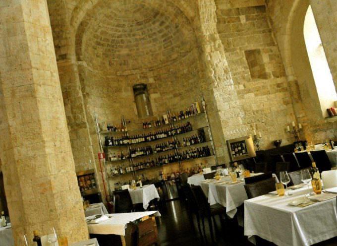 Le lampare al fortino, il ristorante cattedrale di Trani, perla di Puglia