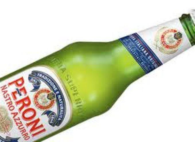Birra, Peroni in vendita da Eataly