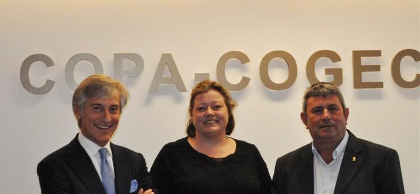 Praesidium Copa-Cogeca, riforma della PAC : Confronto tra Bruni (Cogeca), Ramos (Copa) e Gjerskov (Consiglio agricolo UE)