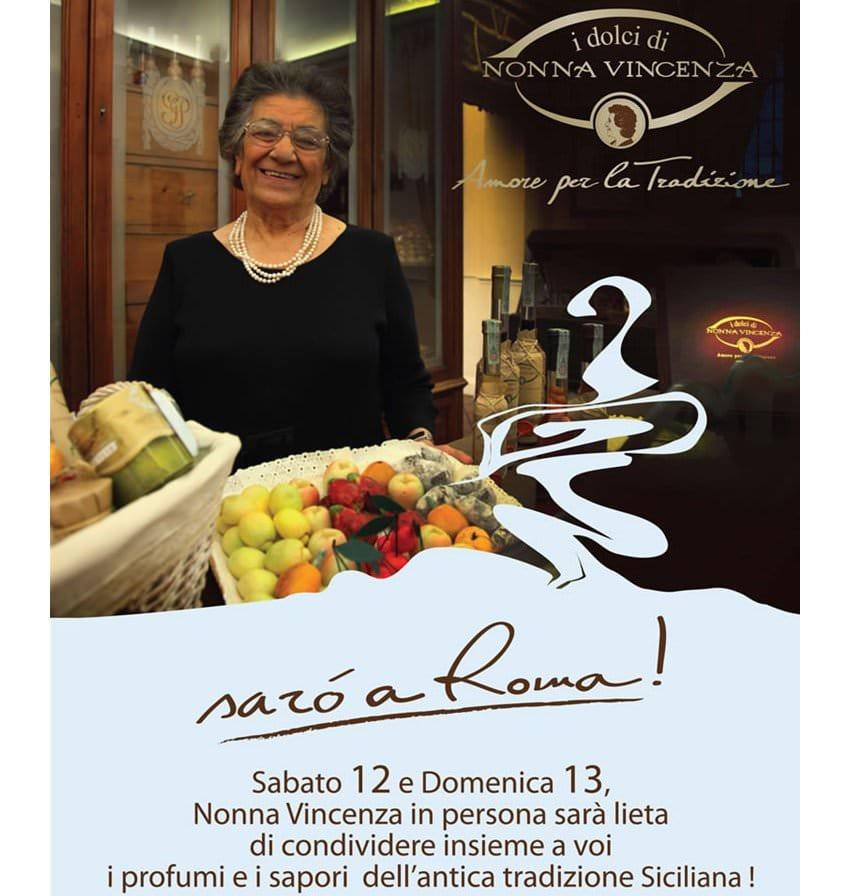 I Dolci di Nonna Vincenza nel nuovissimo Store di Roma