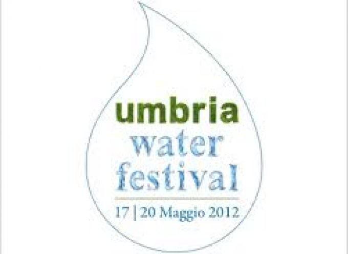 17-20 maggio. A Perugia l'Umbria Water Festival