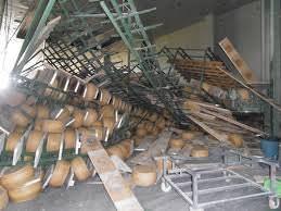 Terremoto, danni per 70 mln di danni al Grana Padano d'Emilia