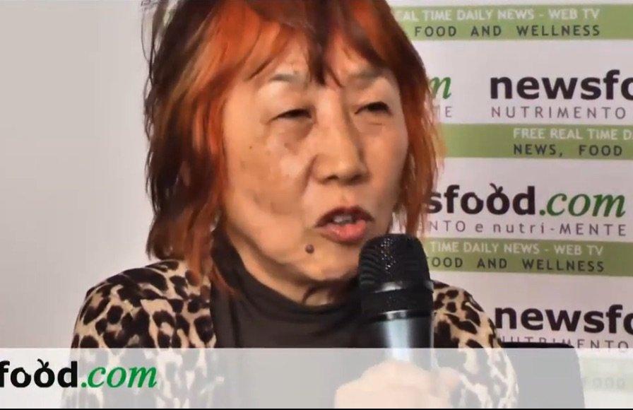 Mitsuyo Kitamura F&w journalist and writer at Cibus 2012 (interview)