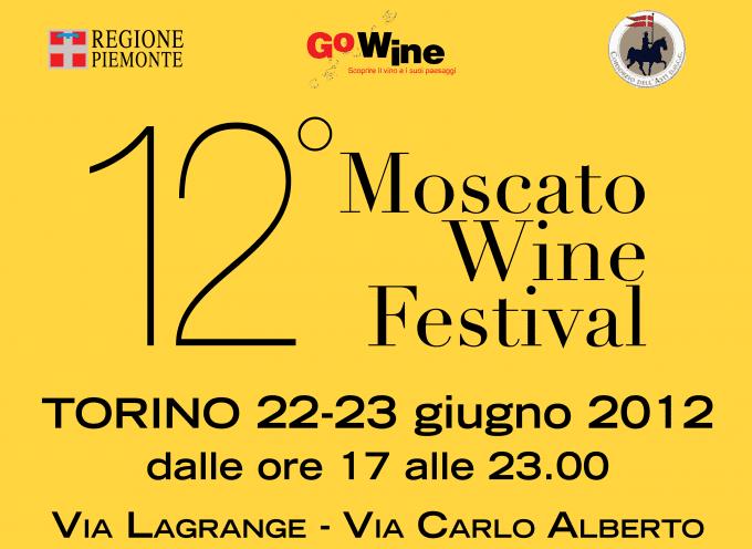 """Torino: Nuova edizione del """"Moscato Wine Festival"""""""