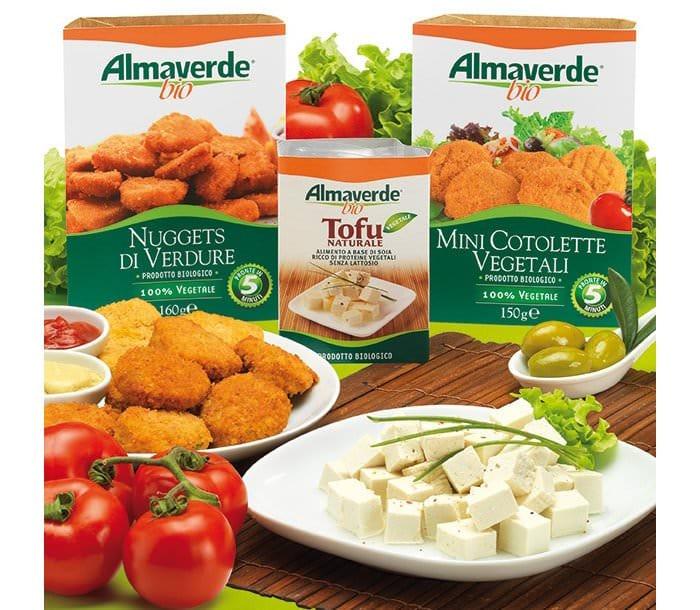 Almaverde Bio: Nuova linea di prodotti gastronomici vegetali