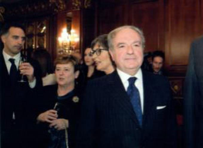 Il presidente di Assoedilizia, Colombo Clerici, alla cena con il premier Monti