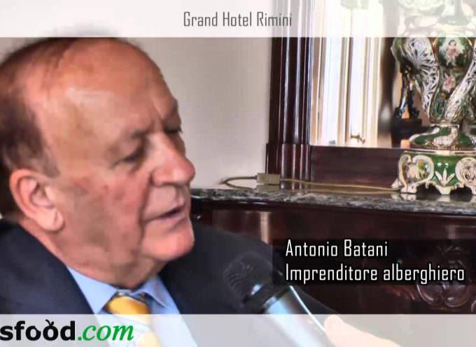 Video intervista ad Antonio Batani, il re degli alberghi della Riviera romagnola