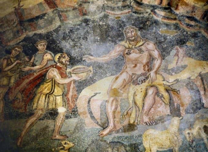 Villa del Casale: rinasce il vino di Polifemo