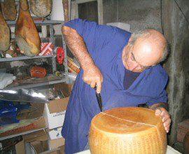 Il Parmigiano Reggiano Bonat DOP protagonista nella Nike Vip House di Londra