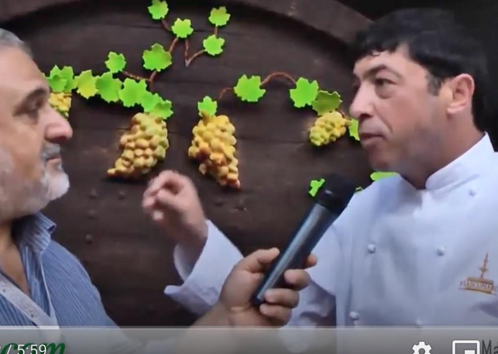 Siciliamo 2012: Nicola Fiasconaro e la botte, di cioccolato di Modica, con 200 litri di Marsala (Video)