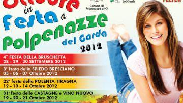 """""""Ottobre in festa"""" al Polo Fieristico Enogastronomico di Polpenazze (BS)"""