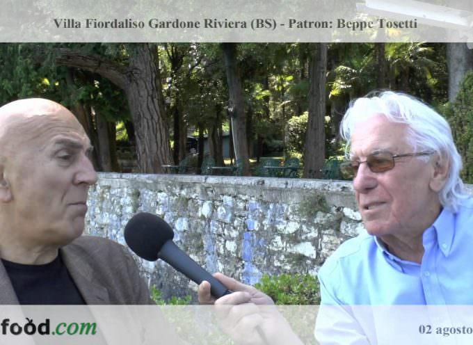 Cino Tortorella intervista Beppe Tosetti, Patron di Villa Fiordaliso (video)