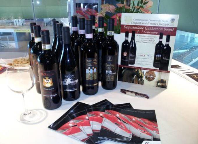 Trenitalia e Cesanese: grande vino sulla linea Milano-Roma