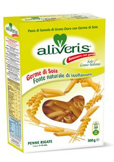 SANA 2012: Aliveris, pasta di semola biologica di grano duro con germe di soia