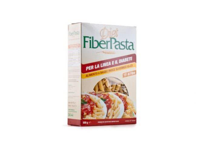 FiberPasta, pasta dietetica di grano duro, senza crusca