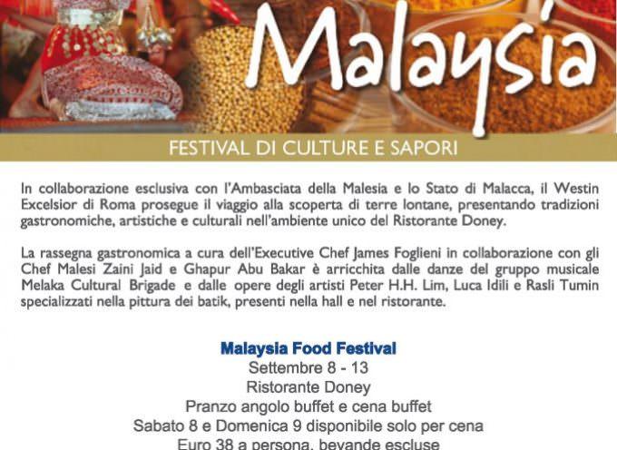 Roma. Settimana di cucina malese al Ristorante Doney