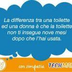 """""""La differenza tra una toilette e una donna? La toilette non ti insegue per nove mesi dopo che l'hai usata"""" Arcigay contro lo zucchero della Techmania"""
