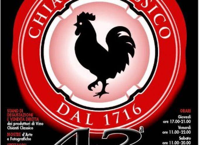 Vino. A Greve (FI), la 42° Expo del Chianti Classico