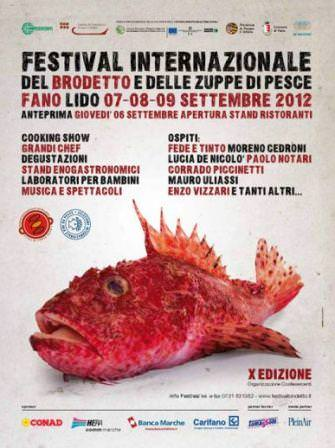 Palombo, gallinella e tracina. A Fano prossimo il Festival internazionale del brodetto e delle zuppe di pesce