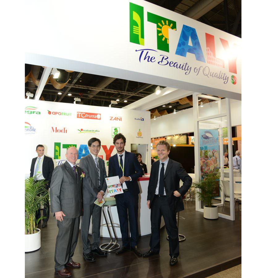 Asia Fruit Logistica: Nuova immagine per il CSO
