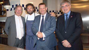 Il ministro gallese Alun Davies in Italia promotore delle carni gallesi