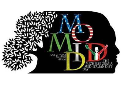 """Il 27 ottobre 2012 si celebra il """"Michelle Obama Med-Italian Diet Day"""""""