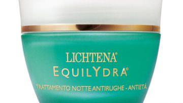 Lichtena: Nasce Equilydra trattamento notte antirughe – antietà
