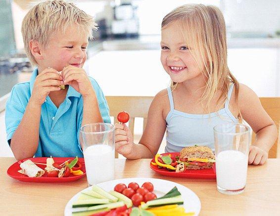 Bambini, Sana alimentazione