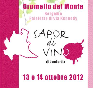 Sapor di vino di Lombardia 2012
