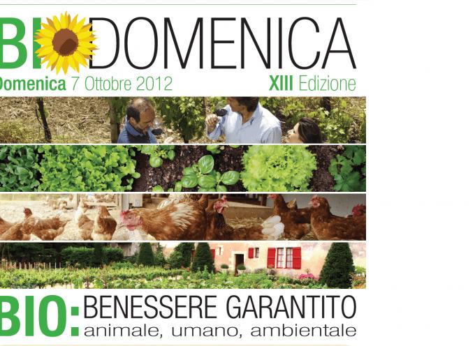 7 ottobre, in Italia torna la Biodomenica