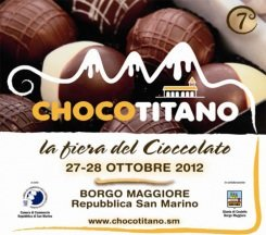 27/10. San Marino capitale del cioccolato