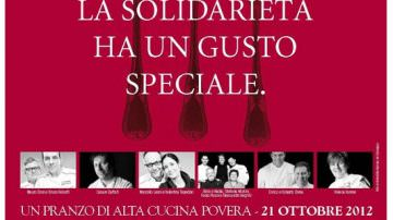 Grandi Cuochi all'Opera 2012, con semplicità: Alta Cucina a scopo benefico
