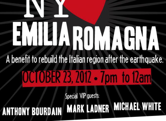 A Night to Rebuild. New York aiuta l'Emilia