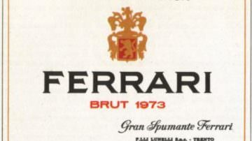 New World wine experience, Ferrari unico spumante italiano